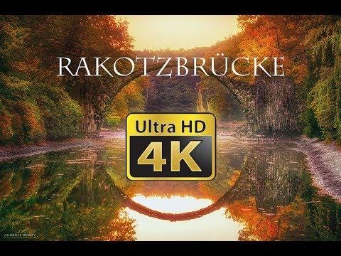 Rakotzbrücke, Germany 4K