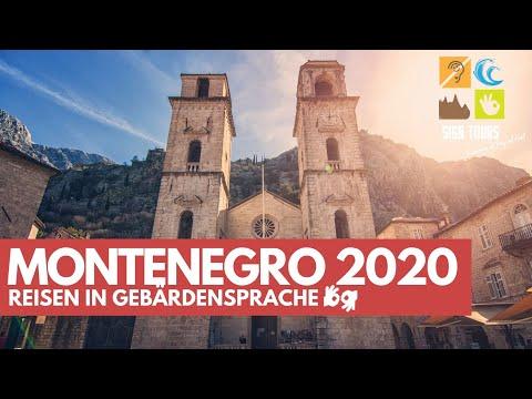 MONTENEGRO Erlebnisreise 2020 - Reisen in Gebärdensprache